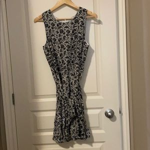Gap Navy Paisley Summer Dress